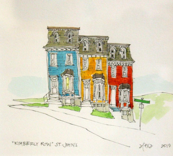 Kimberly Row in St. John's