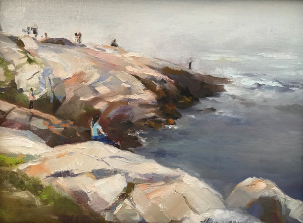 Plein air by the ocean