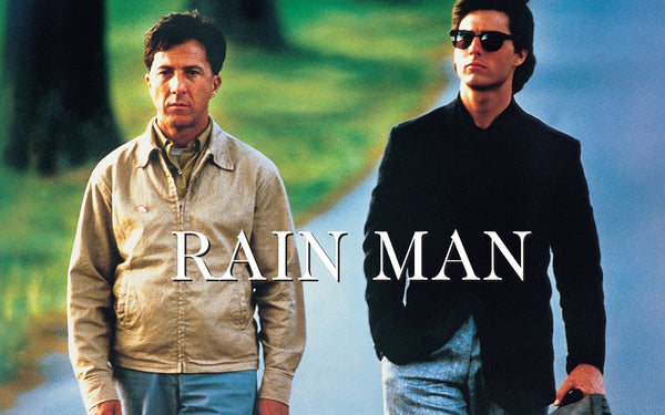 He isn't Rain Man, he's Superman.
