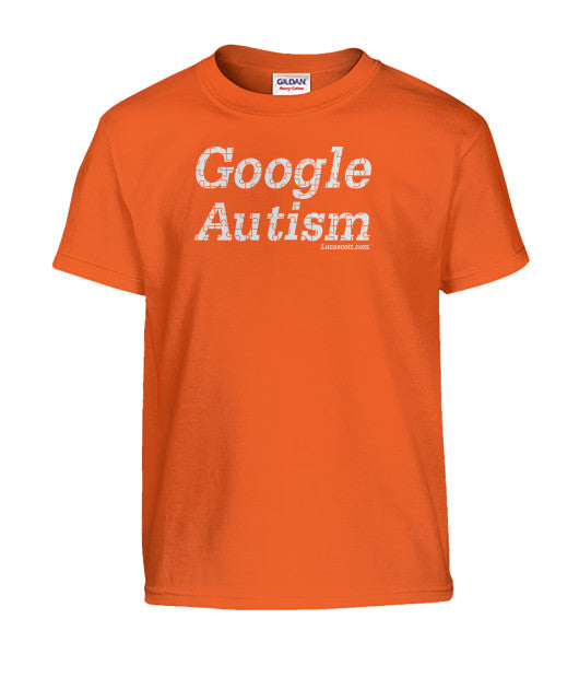 Buy Now Google Autism KIDS T-Shirt.