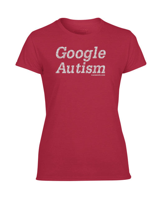 Buy Now Google Autism LADIES T-Shirt.
