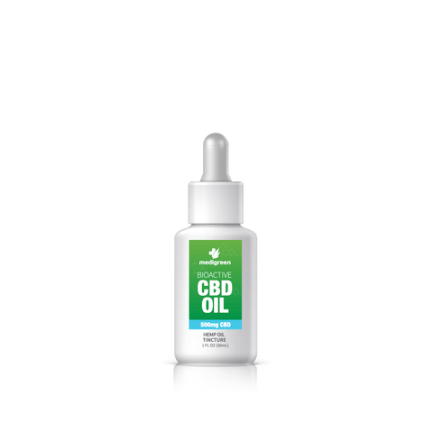 CBD Hemp Oil Tincture 500mg | BioActive