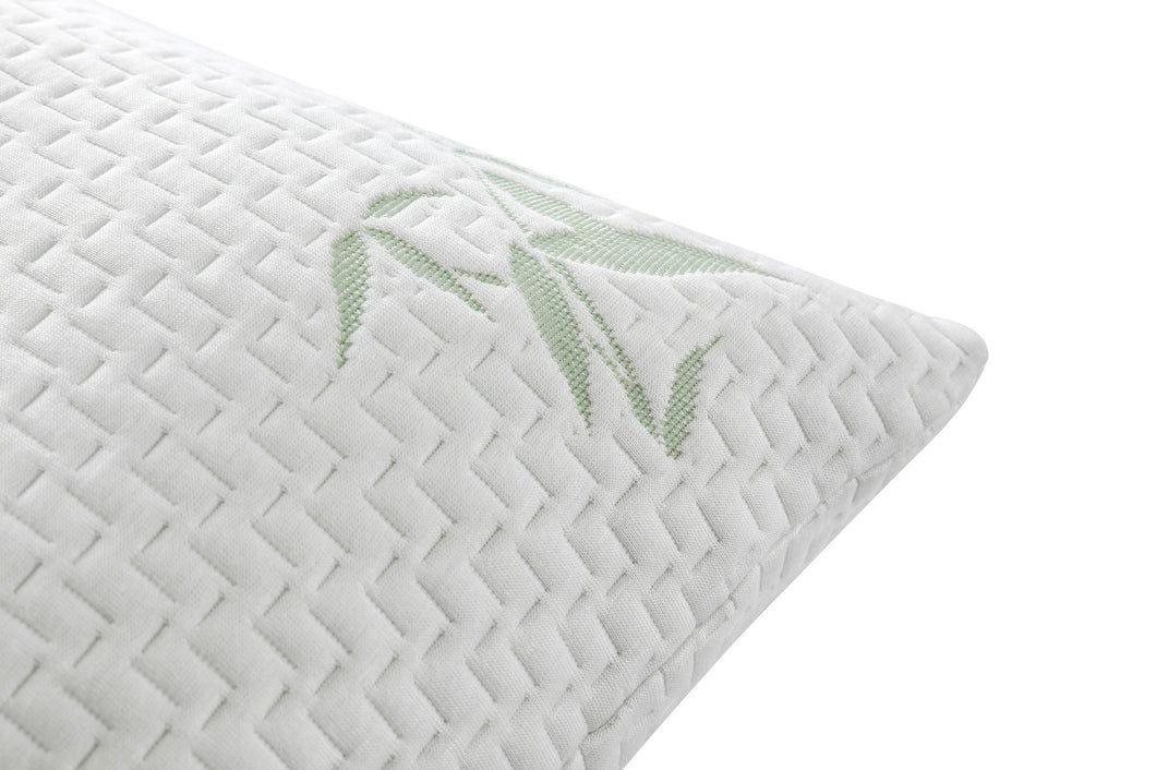 lunavy products fit foam front lnv shredded adjustable memory pillow