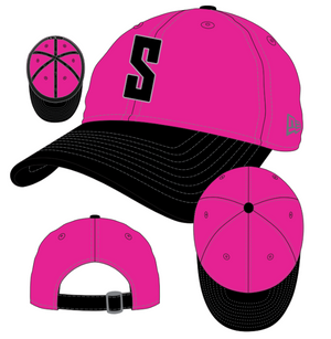Stizz x New Era - Pink / Black