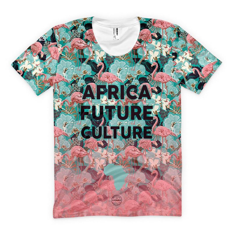 Africa Future Culture III | Flamingo | Men's T-shirt