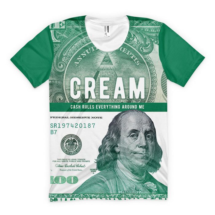 Cash Rules Everything Around Me | CREAM | Premium T-shirt