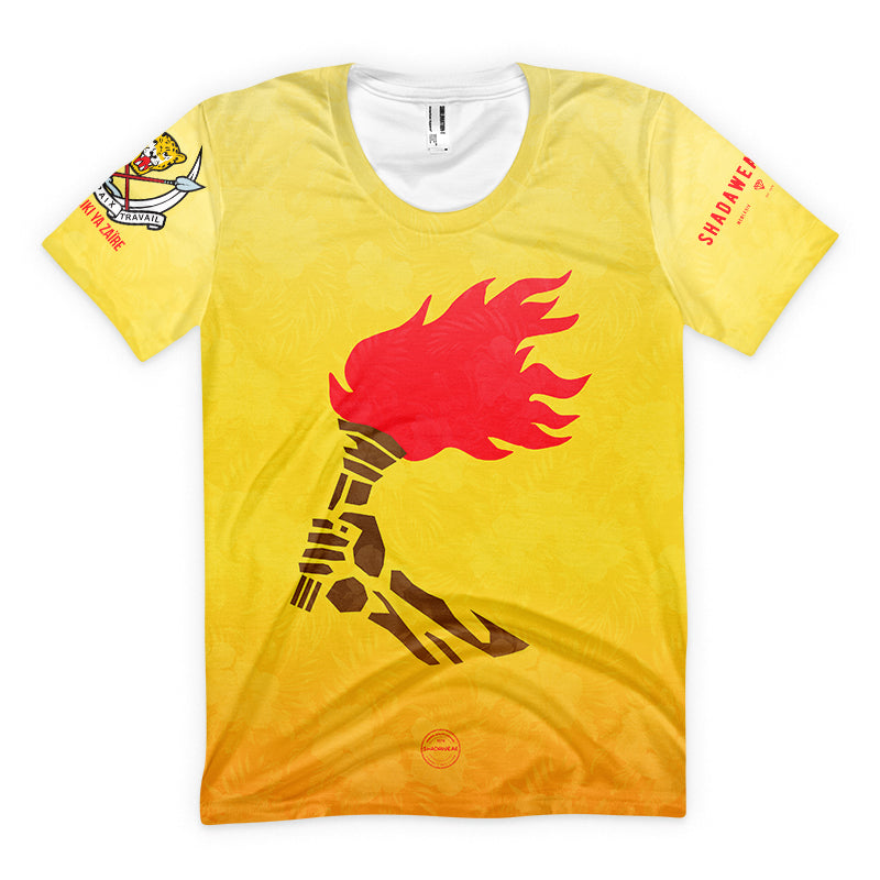 Flame of Zaïre | Premium T-shirt