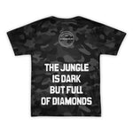 Africa Future Culture IV | Black Camo | Unisex T-shirt