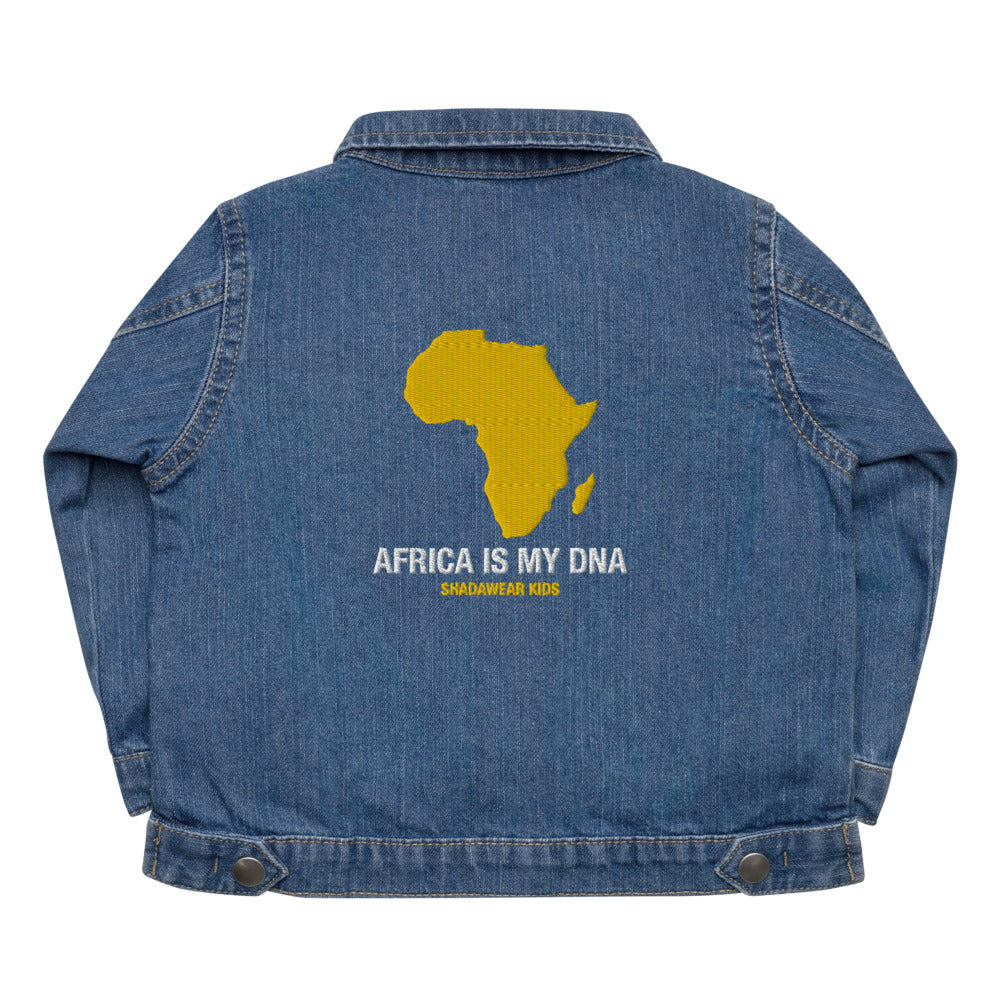 Africa is my DNA | Baby Organic Jacket