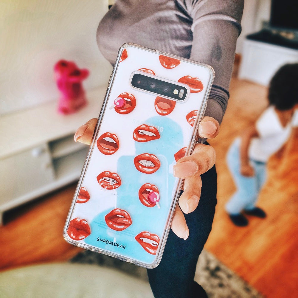 Lips | Samsung Galaxy clear case