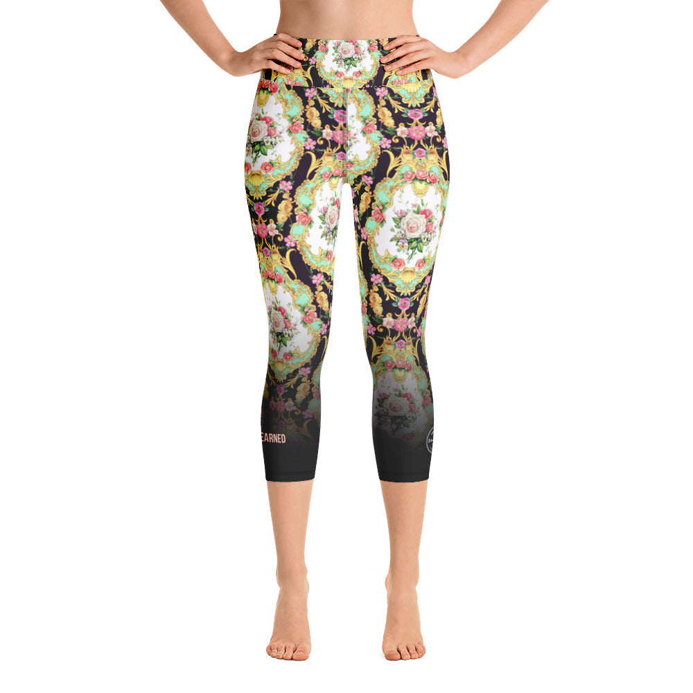 Venise | Yoga Capri Leggings