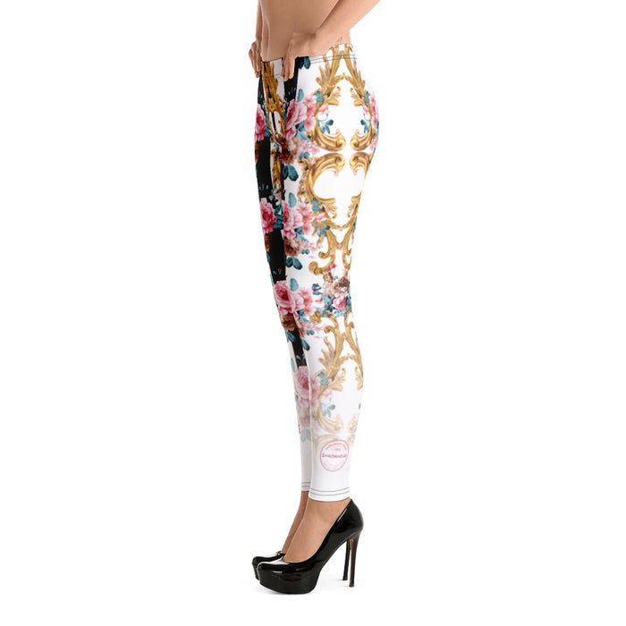 Rose Baroque | Leggings