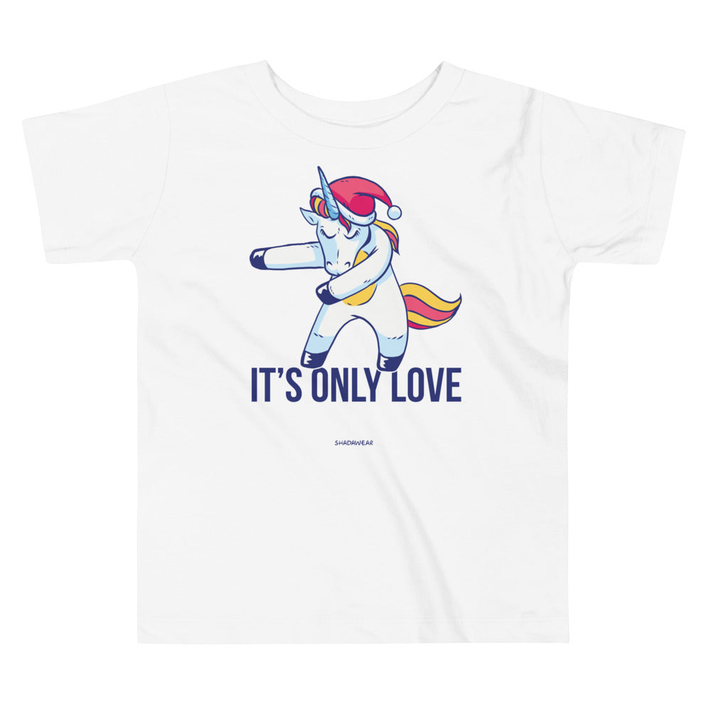 Only Love Unicorn | Toddler Tee