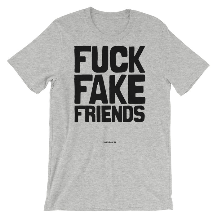 Fuck Fake Friends - Premium Unisex short sleeve t-shirt