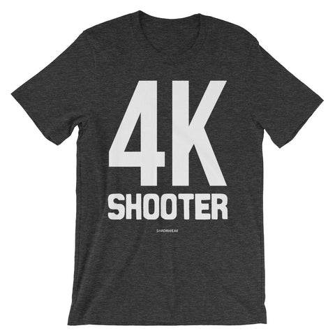4K shooter - Premium Unisex short sleeve t-shirt