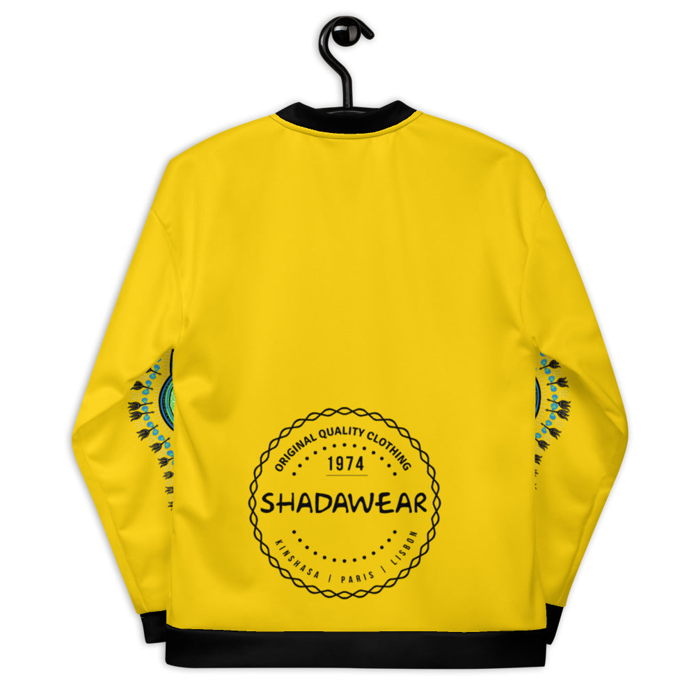 Yellow Dashiki | Unisex Bomber Jacket