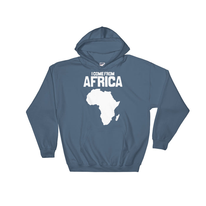 I come from Africa | Hooded Sweatshirt