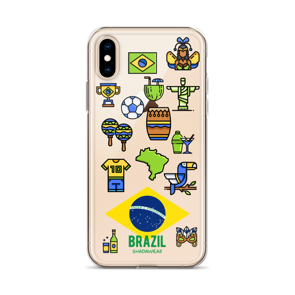 Brazil Life | Clear iPhone Case