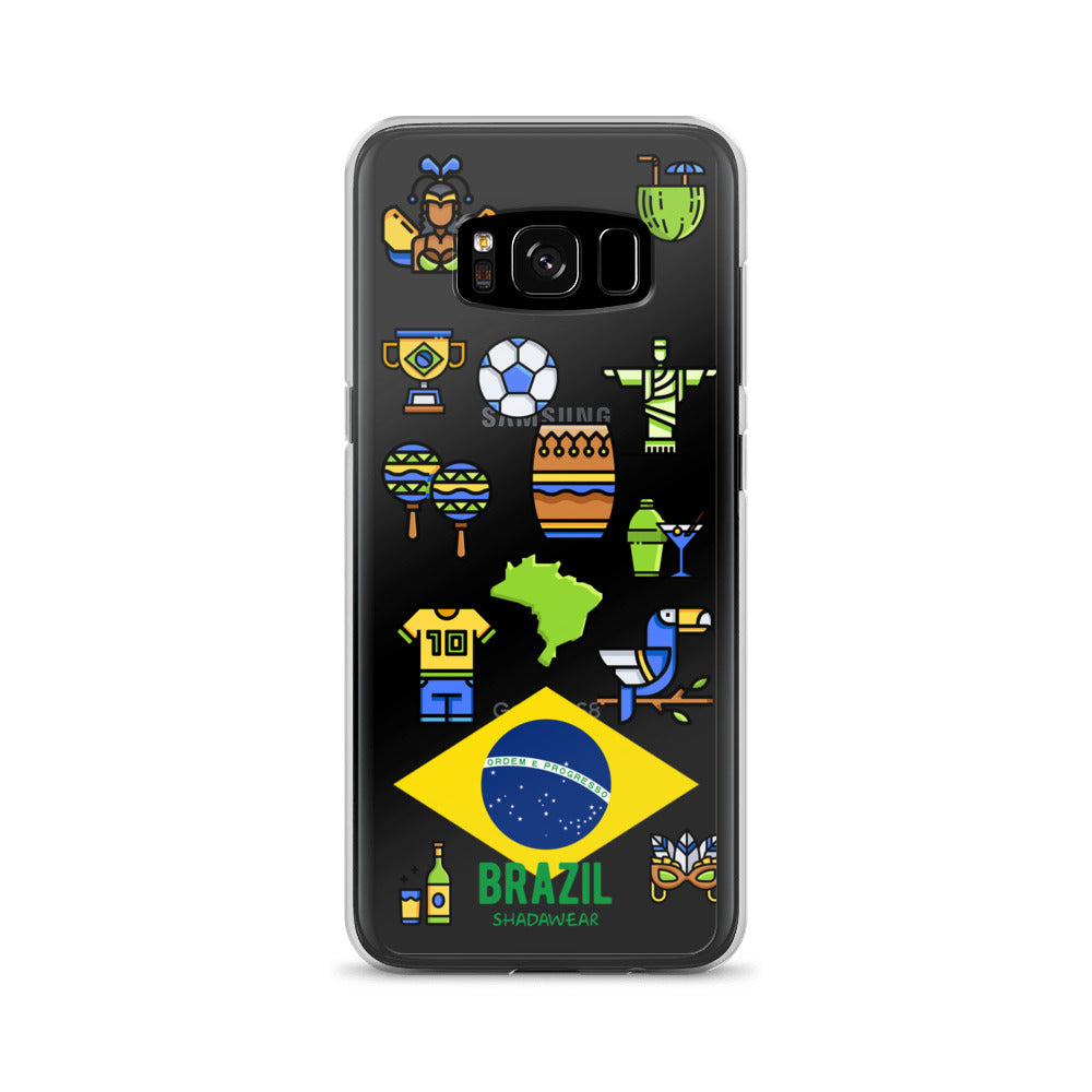 Brazil Life | Clear Samsung Case