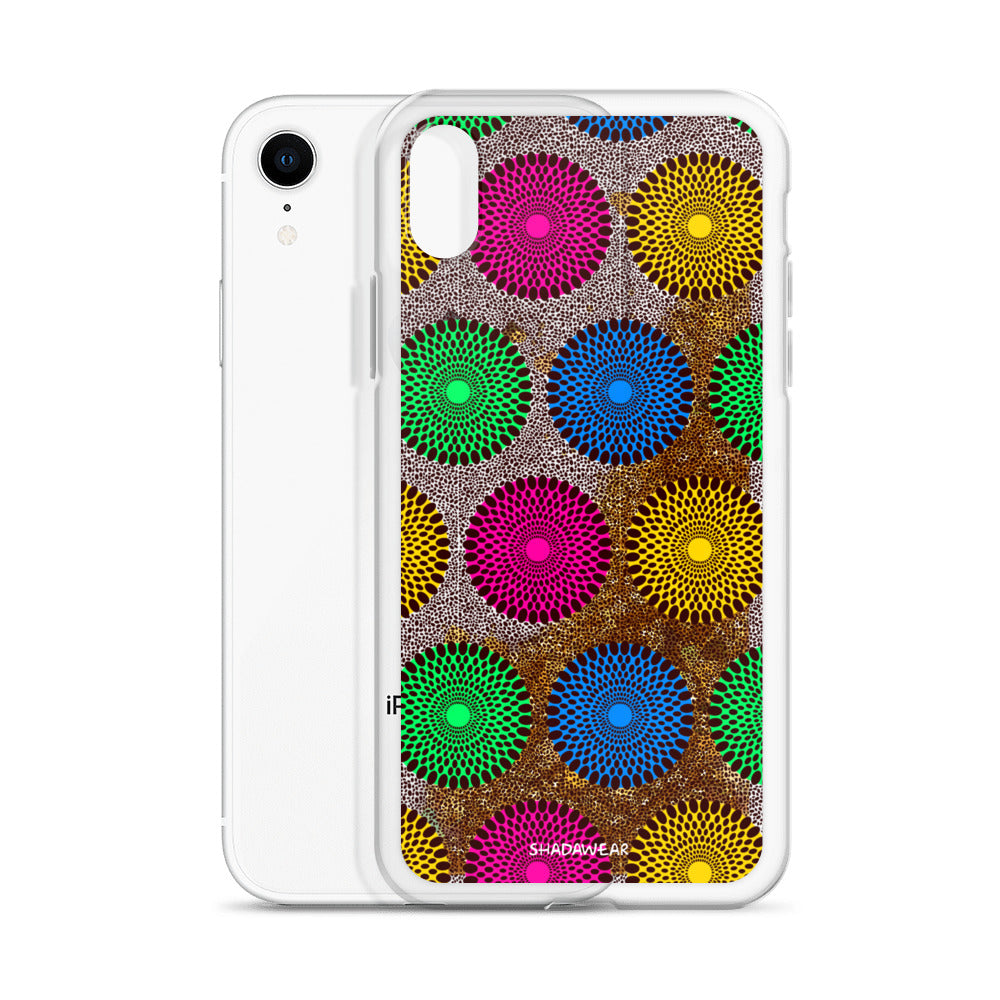 Dutch Wax | Liquid Glitter Phone Case
