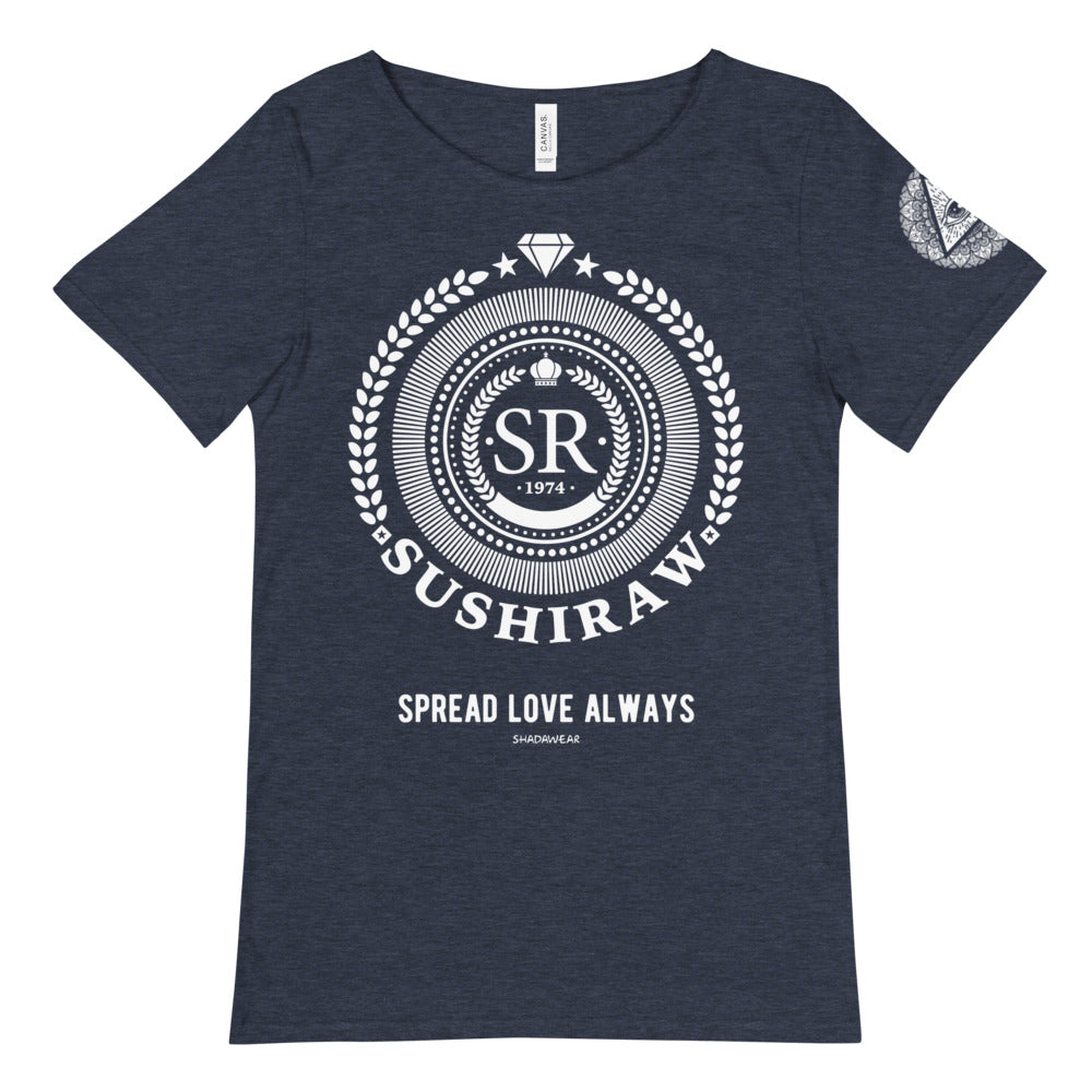 Sushiraw Spread Love | Raw Neck Tee