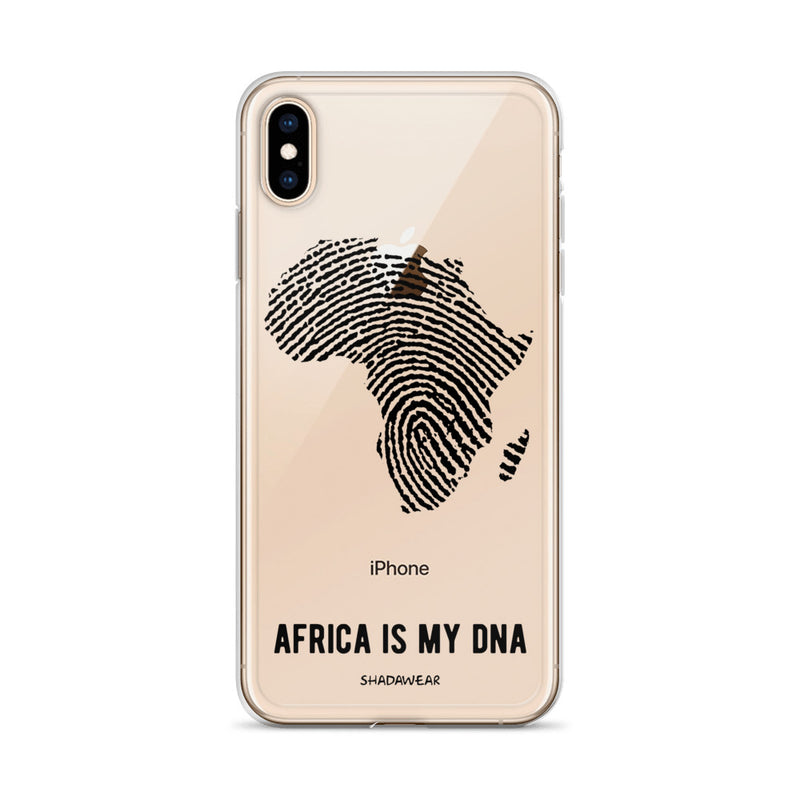 Africa is my DNA | Clear iPhone Case