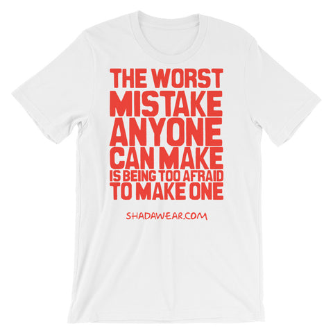 The worst mistake | Short-Sleeve Unisex T-Shirt