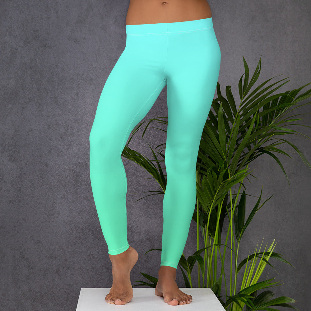 Blue & Green Neon | Leggings