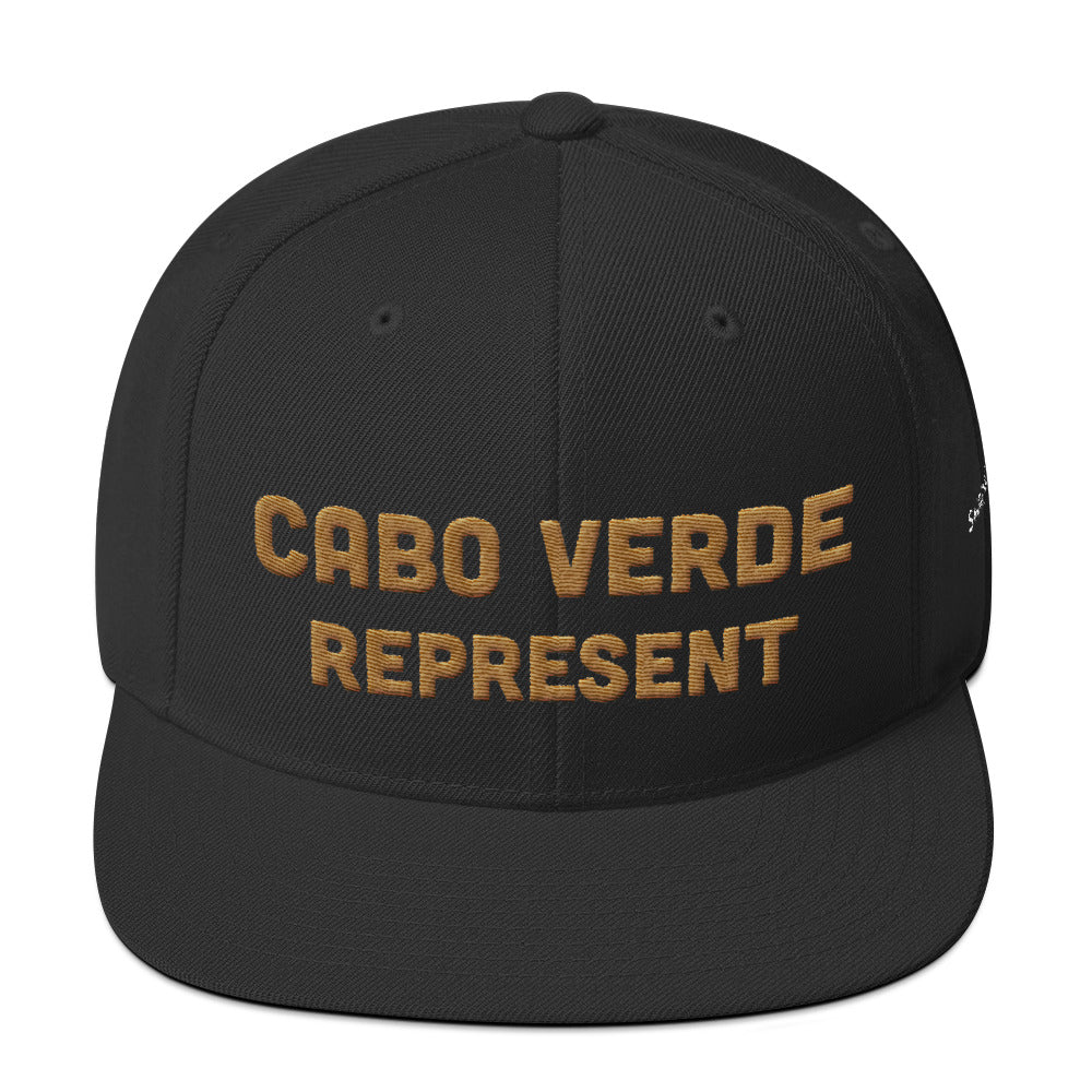 Cabo Verde Represent | Snapback Hat