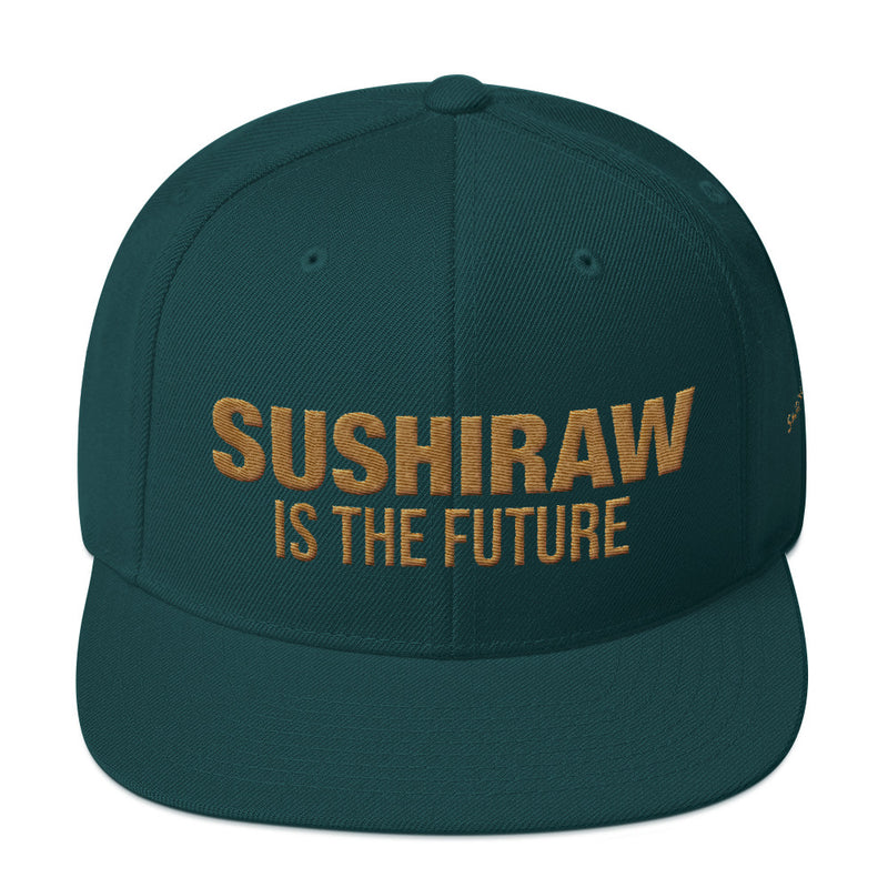 Sushiraw is the Future | Gold Edition | Snapback Hat