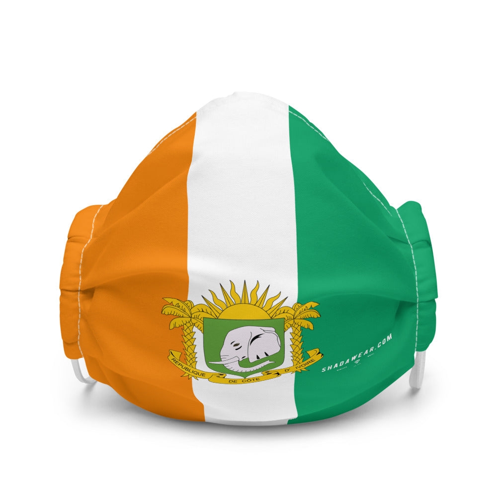 Ivory Coast Represent | Face mask