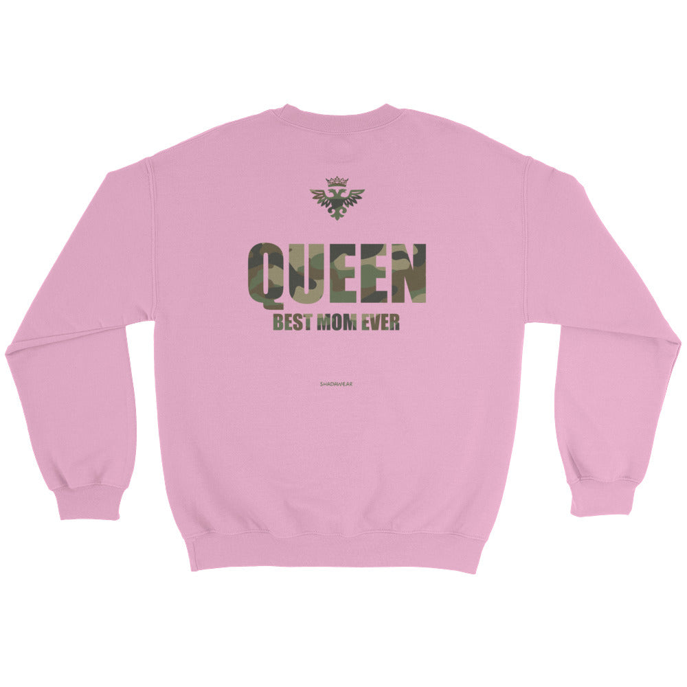 Queen Camo | Sweatshirt