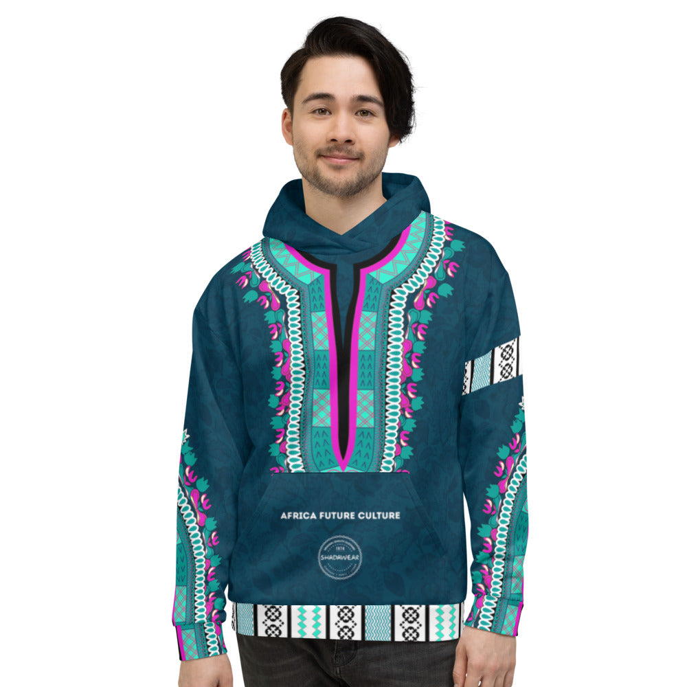 Dashiki | Africa future Culture | Unisex Hoodie
