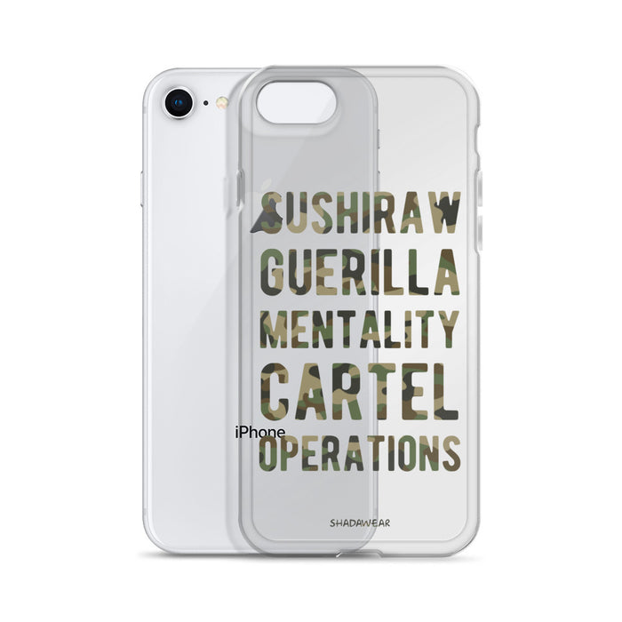 Sushiraw Guerilla Mentality | iPhone Case