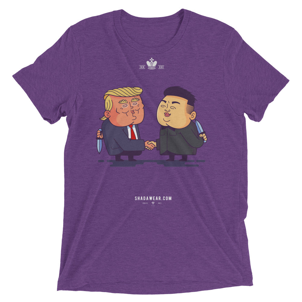 Donald vs Kim | Short sleeve t-shirt