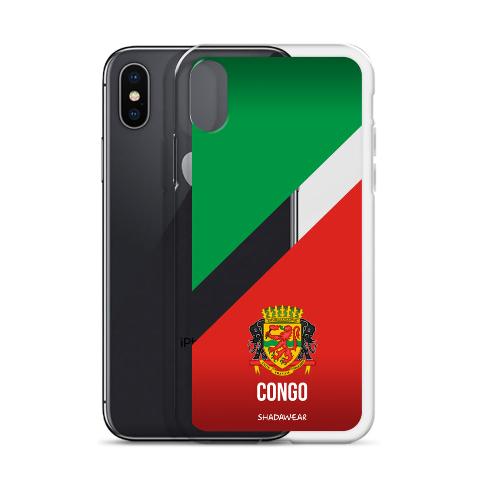 Congo, Brazzaville | iPhone transparent Case