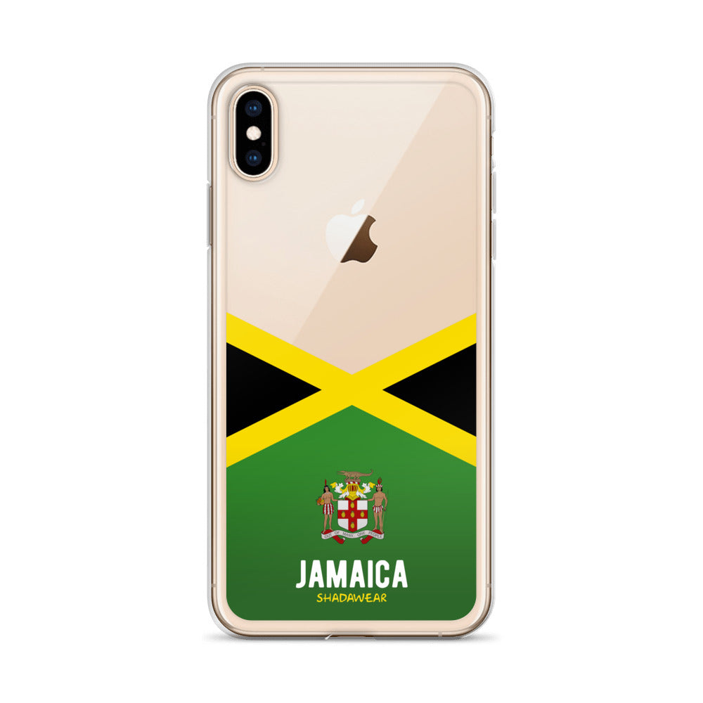 Jamaica | Clear Aesthetic iPhone Case