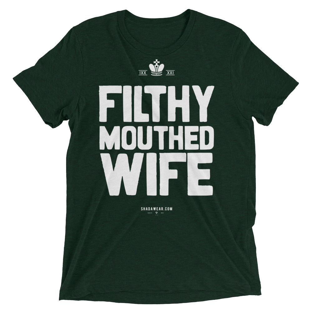 Filthy Mouthed Wife | Short sleeve t-shirt