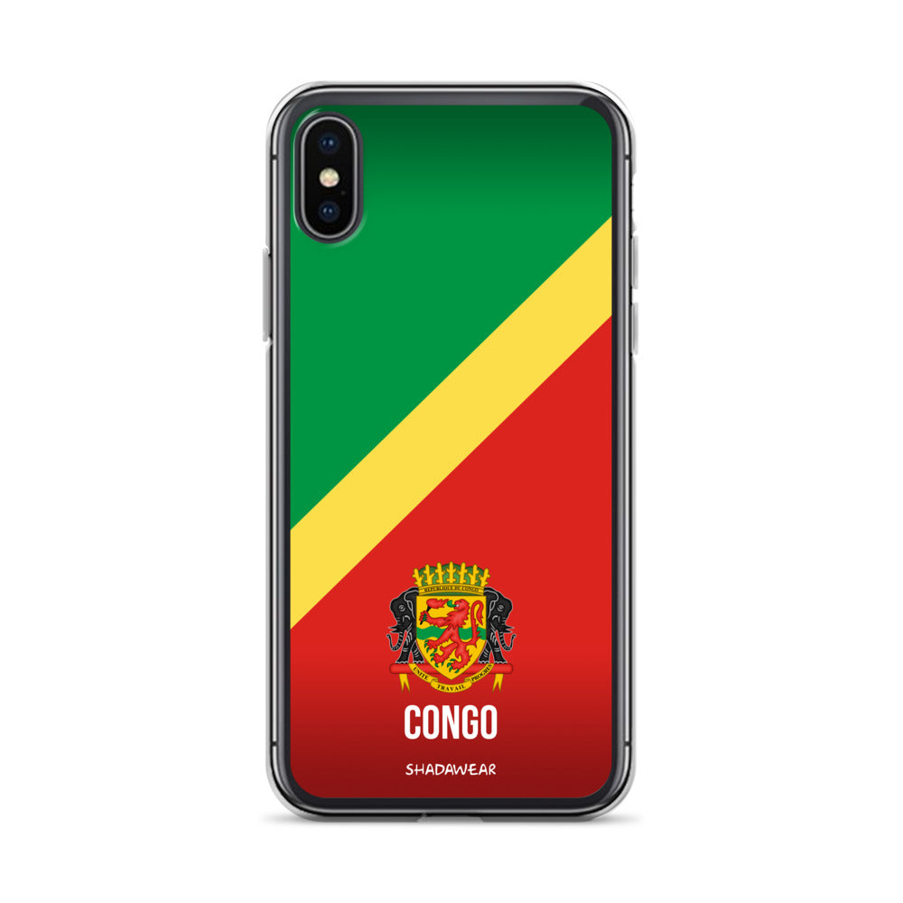 Congo Brazzaville | iPhone Case