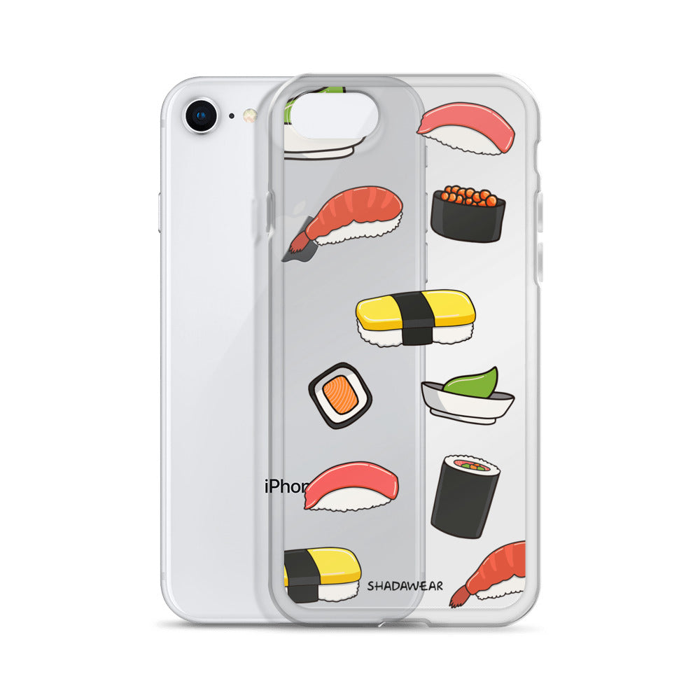 I love Sushi | Clear iPhone Case