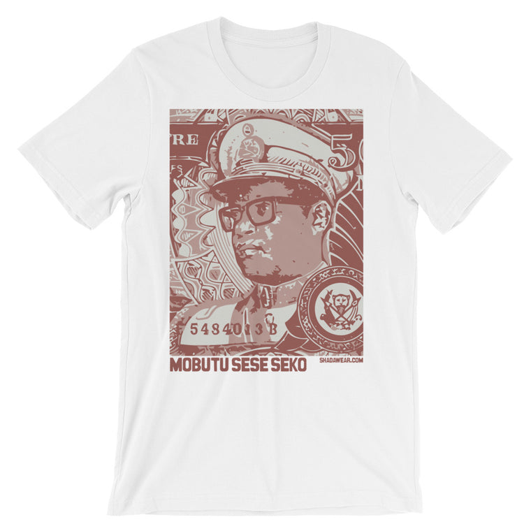 Mobutu Lives - Premium Unisex short sleeve t-shirt