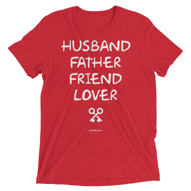 Husband, Father | Short sleeve t-shirt
