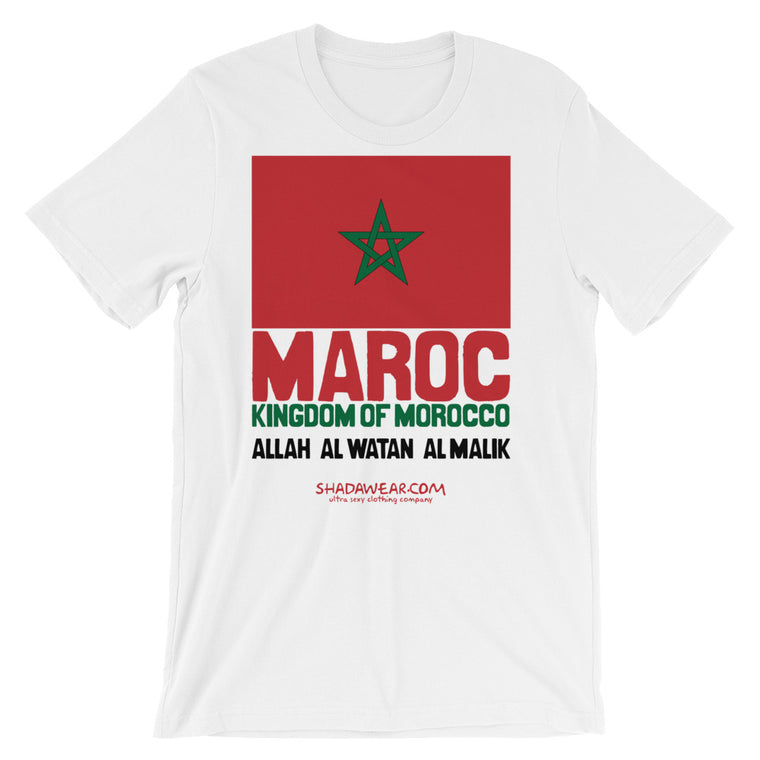 Morocco Represent | Short-Sleeve Unisex T-Shirt