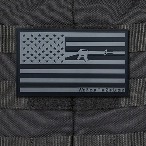WPT2 PVC Flag Moral Patch