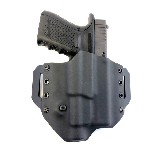 OWB-L PAN : Pancake Holster with Weapon Light