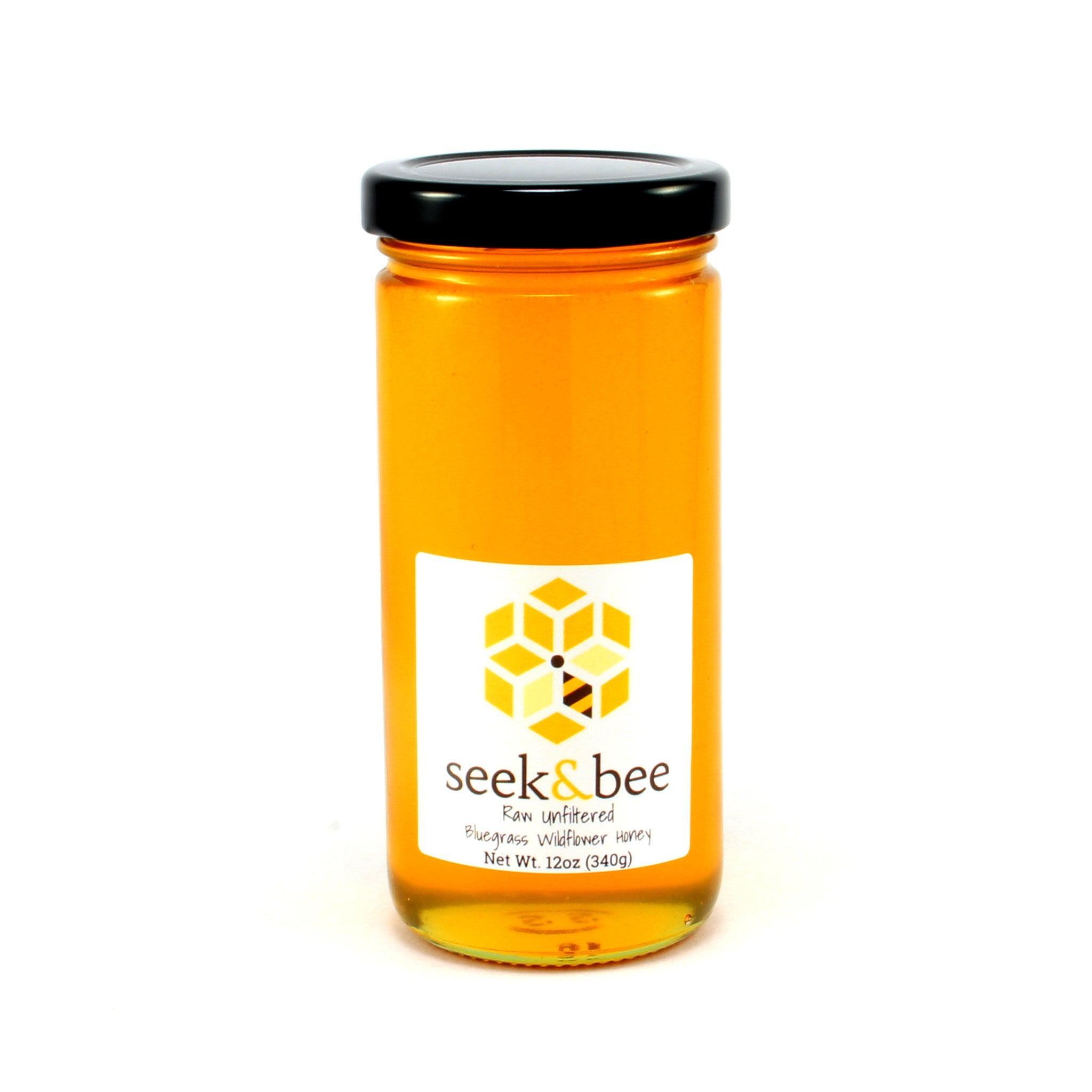 12 oz Raw Unfiltered Kentucky Wildflower Honey