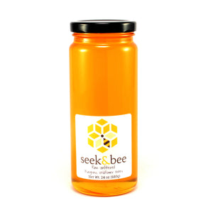 24 oz Raw Unfiltered Bluegrass Wildflower Honey