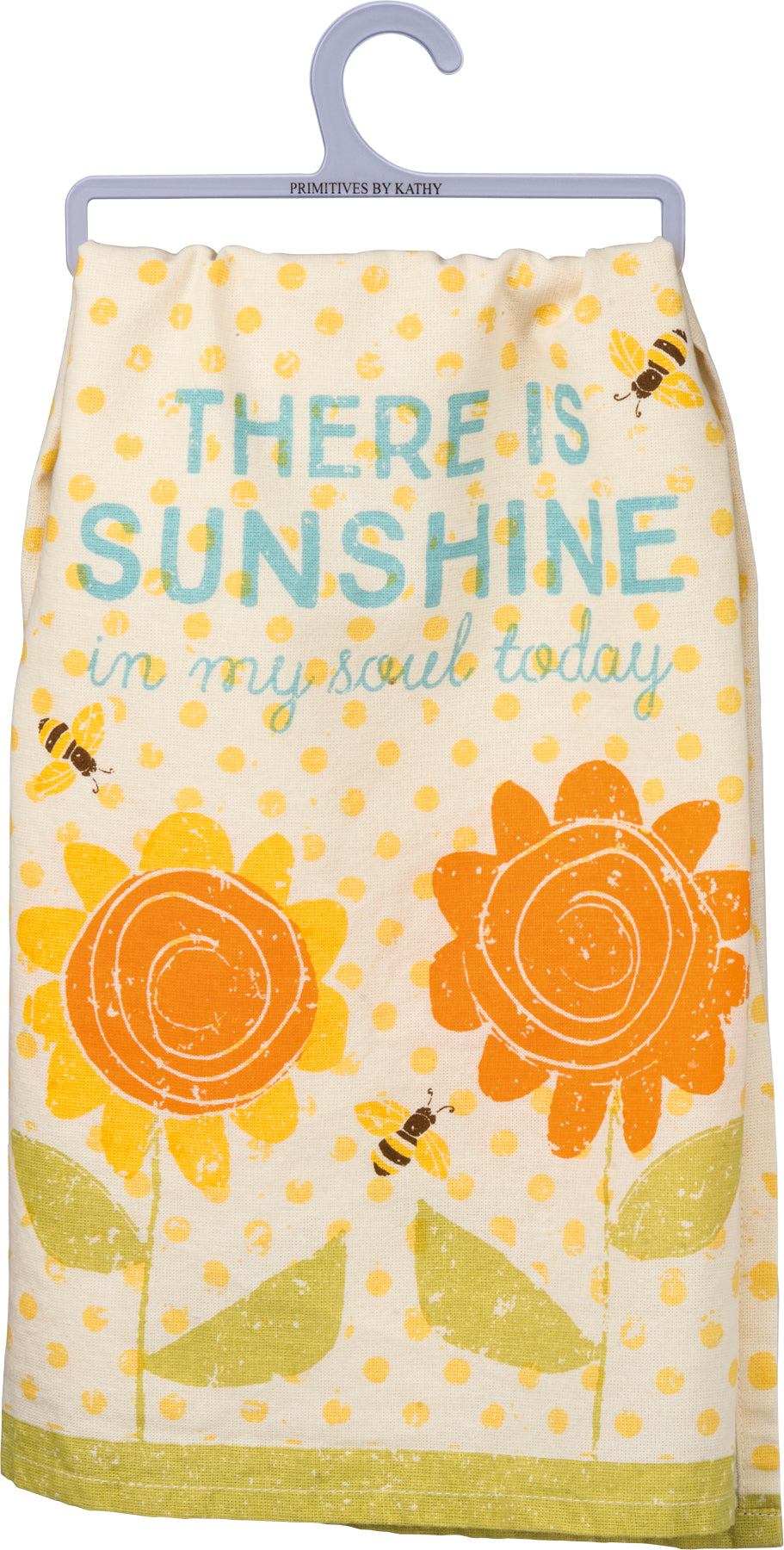 Dish Towel - There Is Sunshine In My Soul Today