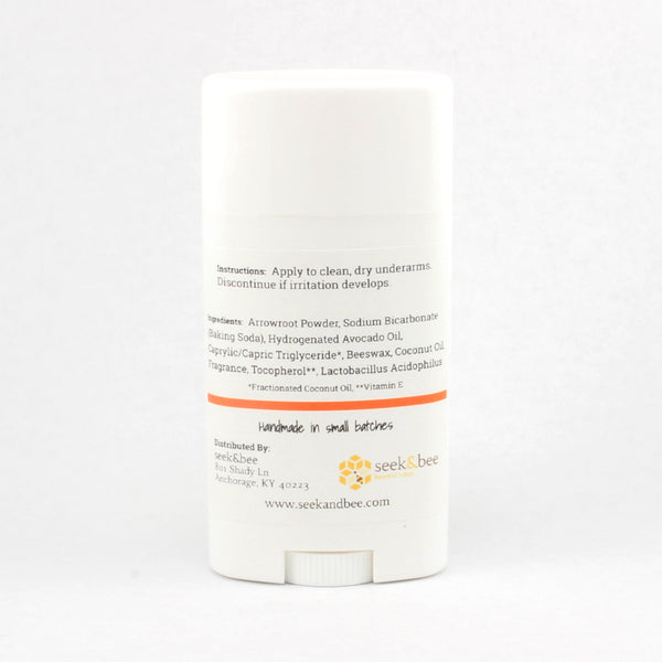 All Natural Probiotic Deodorant Coconut Mango