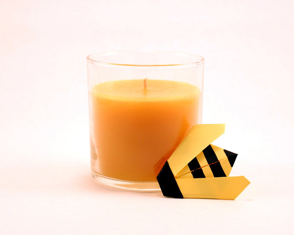 "Pure Beeswax Jar Candle 7 oz (3.5"" H x 3"" W)"